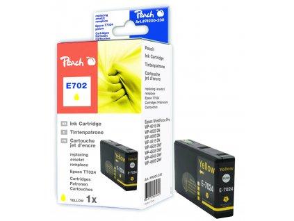 Inkoust Peach T7024 kompatibilní žlutý PI200-230 pro Epson Workforce Pro 4015 (25ml)