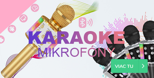 Karaoke mikrofony