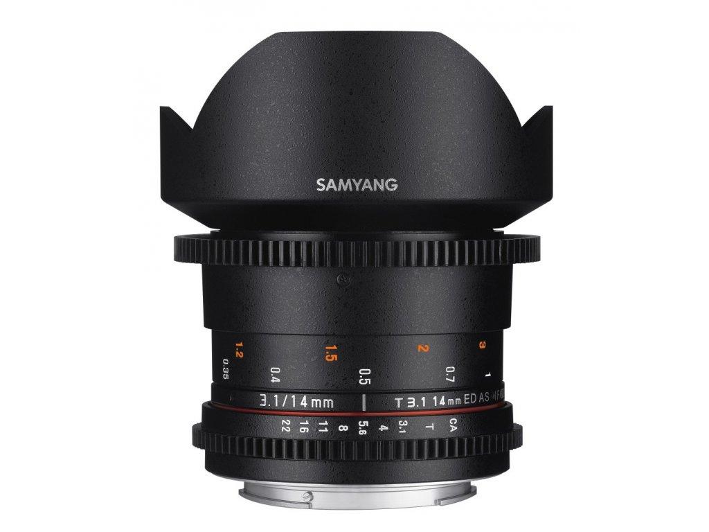 Objektív Samyang 14mm T3.1 VDSLR II Canon
