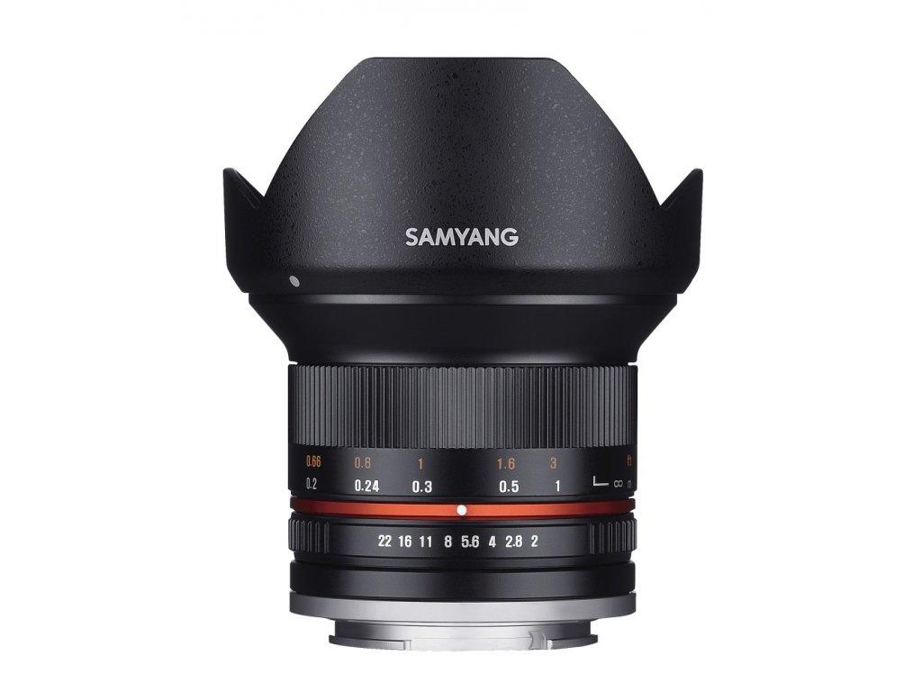 Objektív Samyang 12mm F2.0 Sony E (Black)