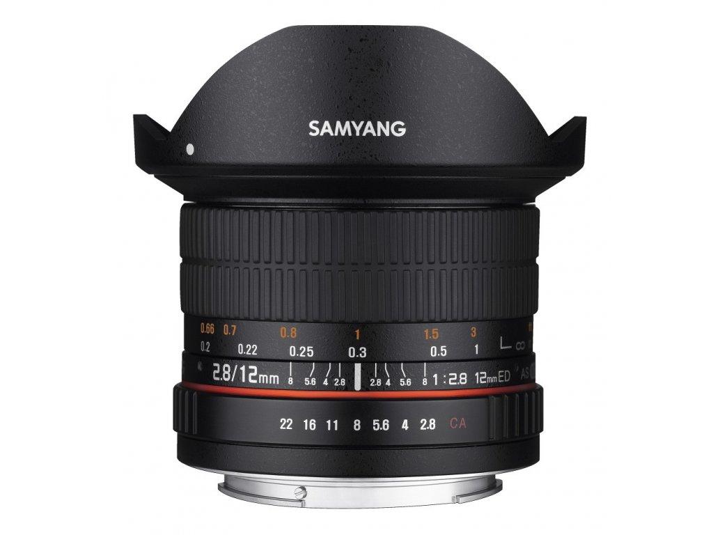 Objektív Samyang 12mm F2.8 Canon