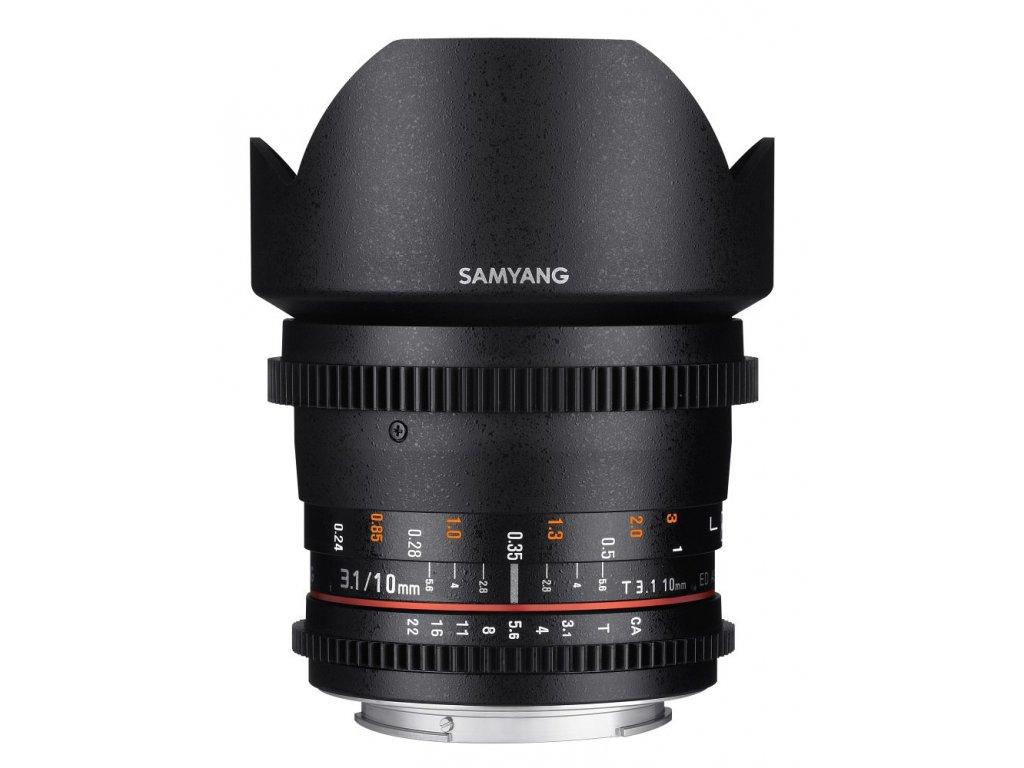 Objektív Samyang 10mm T3.1 VDSLR ED AS NCS CS II Sony E