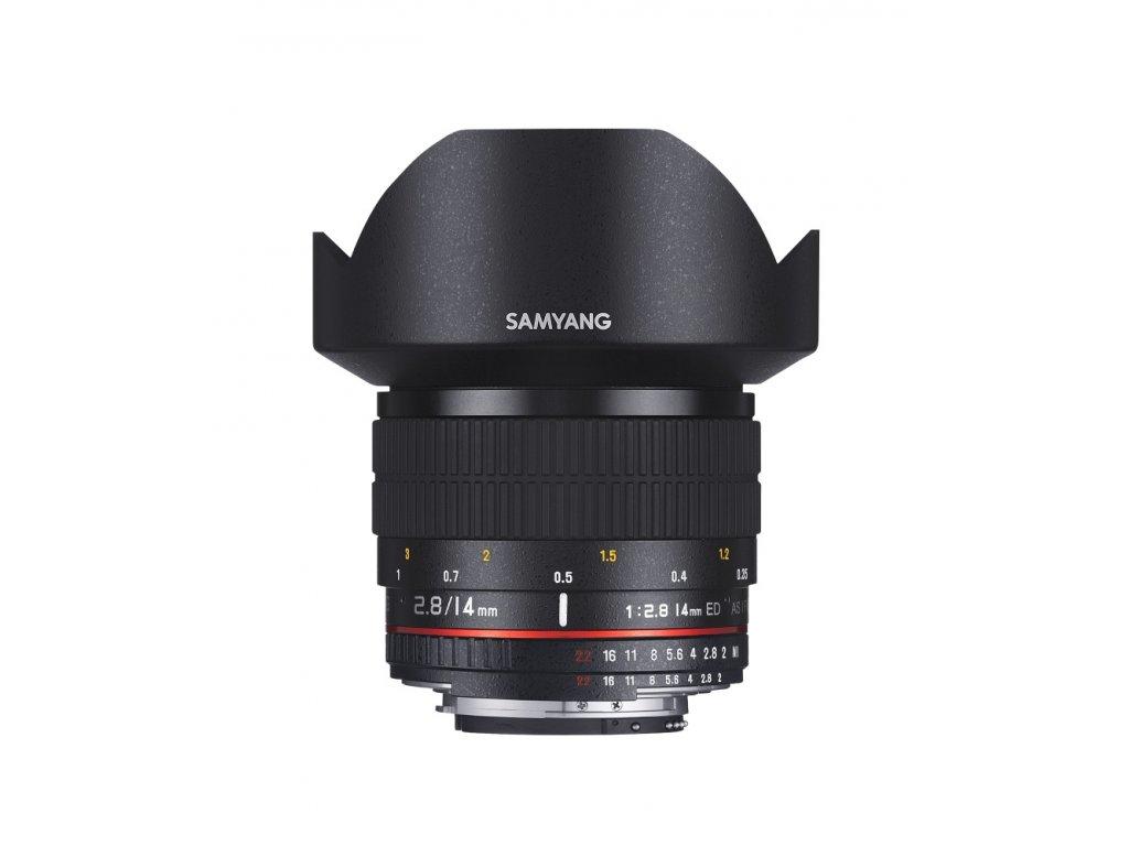 Objektív Samyang AE 14mm F/2.8 ED AS IF UMC Nikon AE
