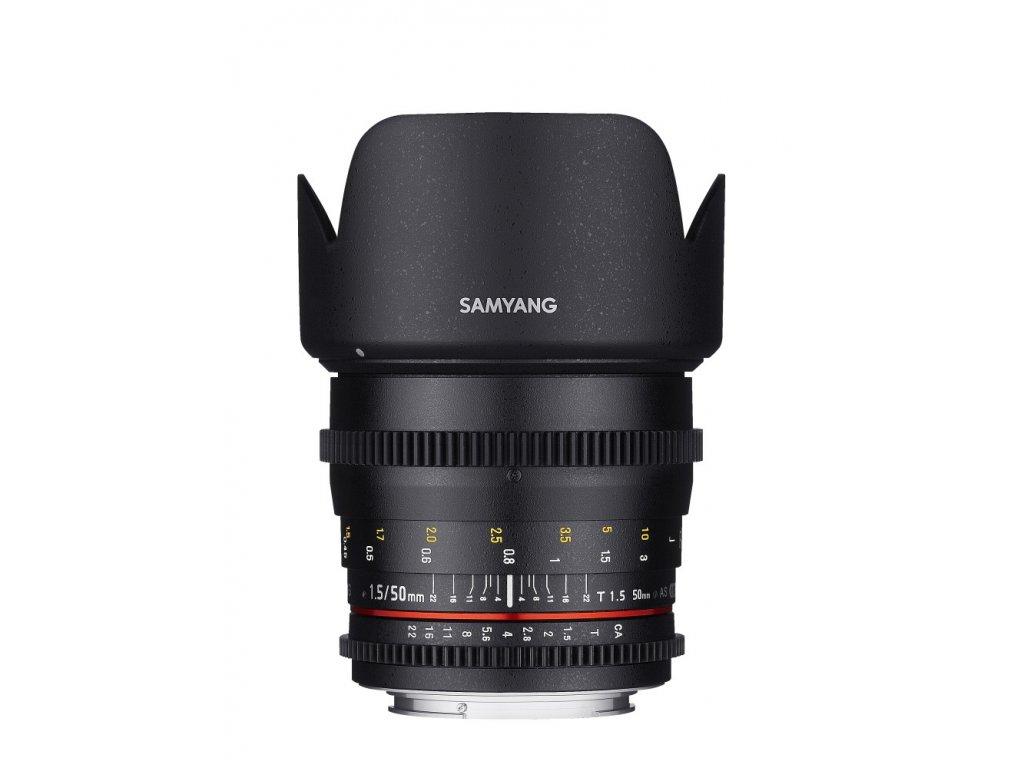 Objektív Samyang 50mm T1.5 VDSLR MFT