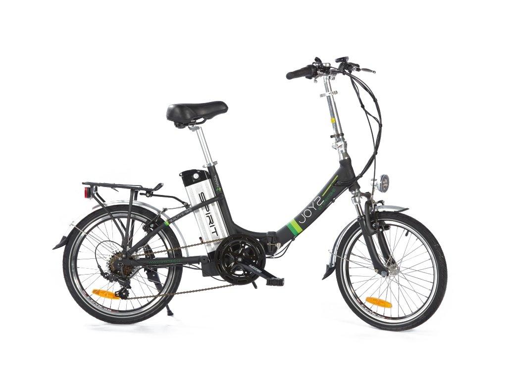 Elektrobicykel Spirit skladačka, JOY čierna 18Ah