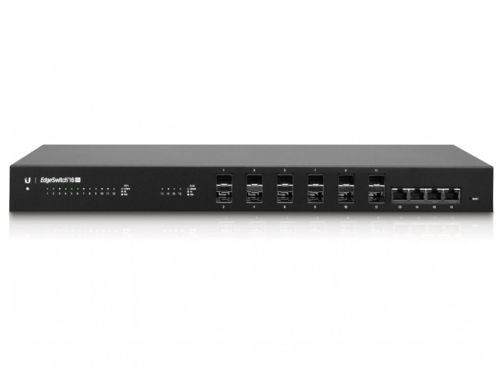Switch Ubiquiti Networks EdgeSwitch ES-16-XG 4x GLAN, 12x SFP+ 10G