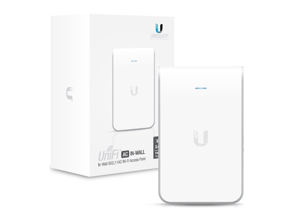 WiFi router Ubiquiti Networks UniFi AP In Wall 2x GLAN, (2,4GHz 300Mbps / 5GHz 867Mbps)
