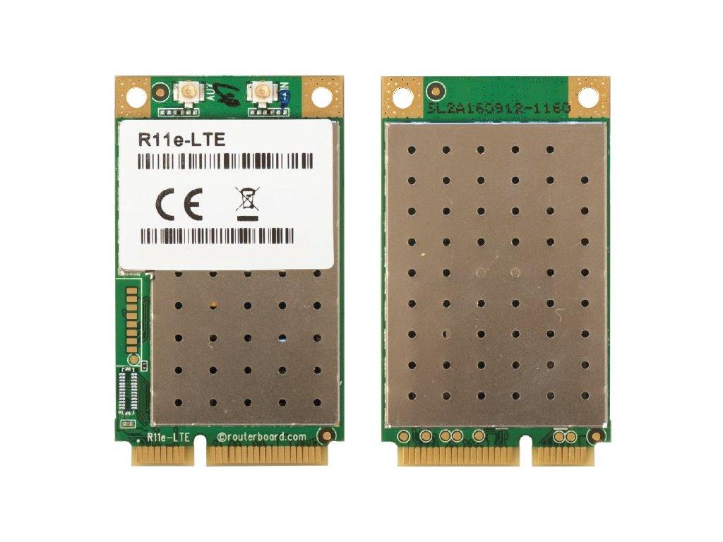 Karta Mikrotik R11e-LTE 2G/3G/4G/LTE miniPCi-e, 2x u.Fl konektor