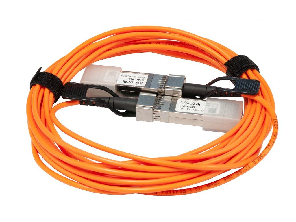 Kábel Mikrotik SFP/SFP+ direct attach Active Optics cable, 5m