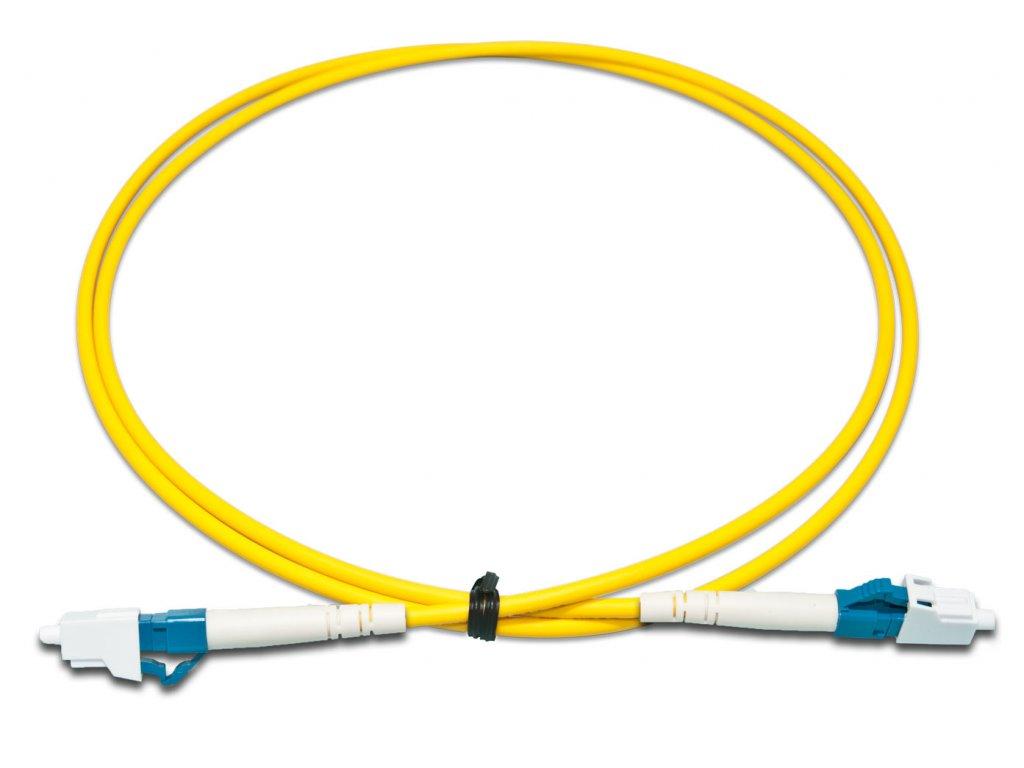 Patch kábel optický simplex LC-LC 09/125 15 m SM