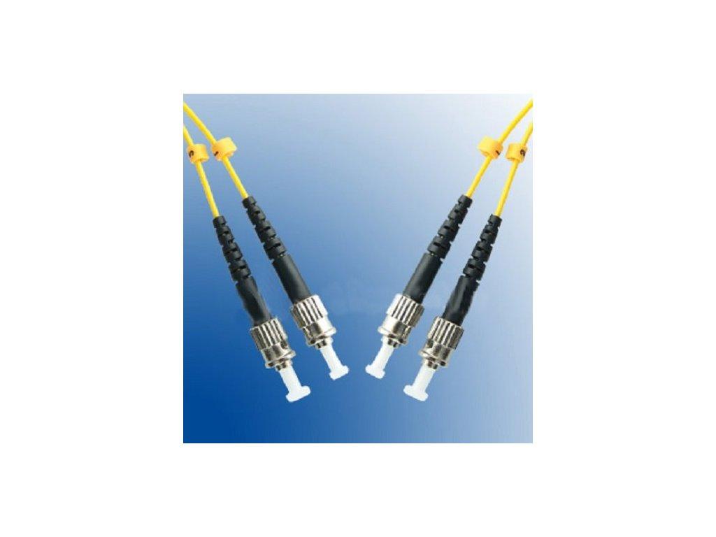 Patch kábel optický duplex ST-ST 09/125 1m SM