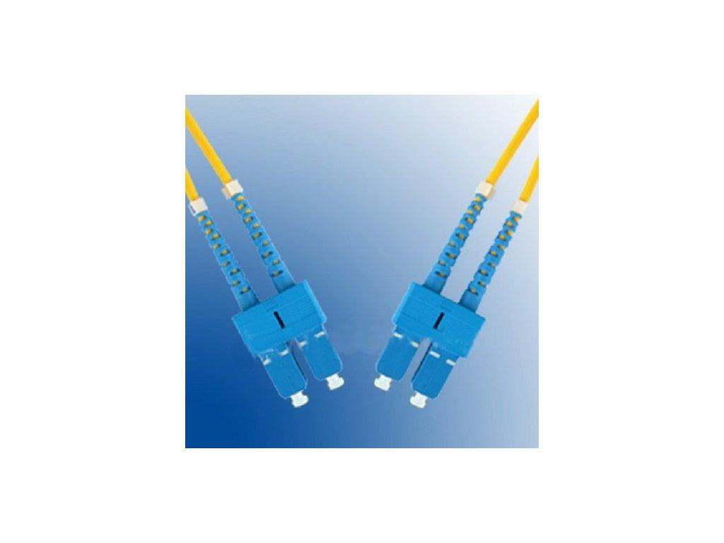 Patch kábel optický duplex SC-SC 09/125 3m SM