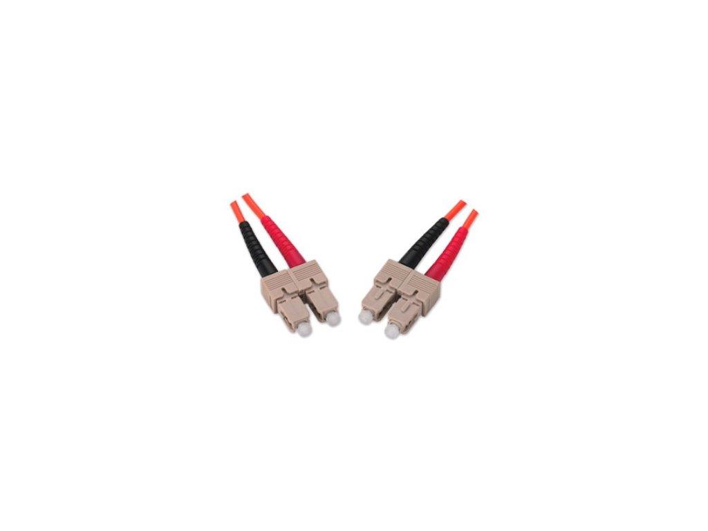 Patch kábel optický duplex SC-SC 62,5/125 5m MM