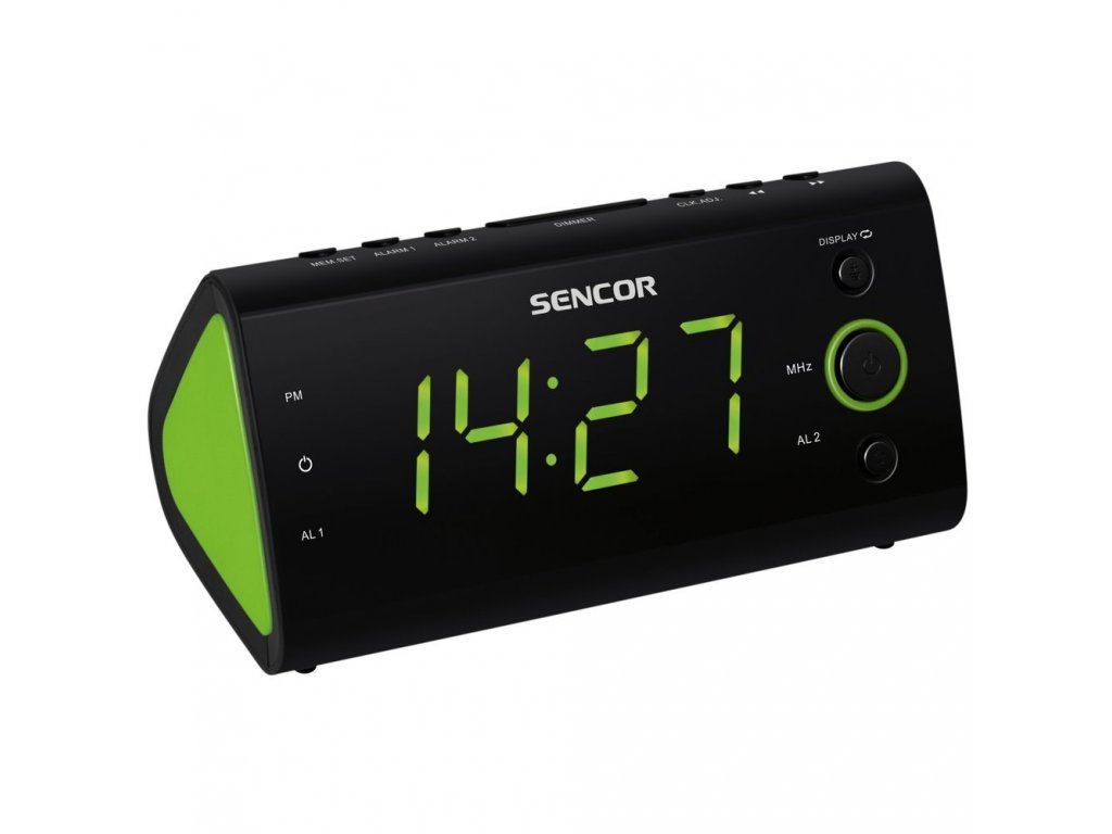 Radiobudík Sencor SRC 170 GN černo-zelený