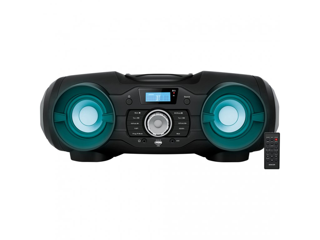 Rádio Sencor SPT 5800 RADIO S CD/MP3/USB/SD/BT, černé