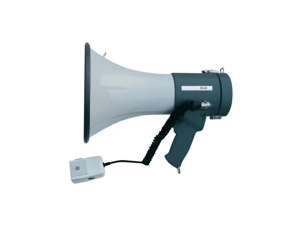 Megafón ER-66S, 45 W, dosah 1km, s ext. mikrofonem