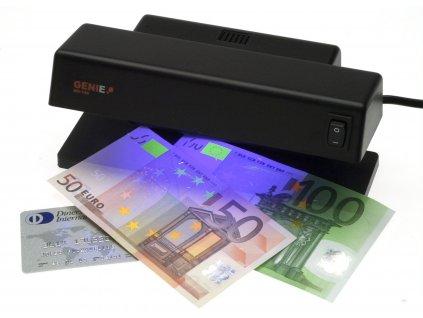 Detektor padělků Genie MD188, UV, na kontrolu pravosti bankoviek