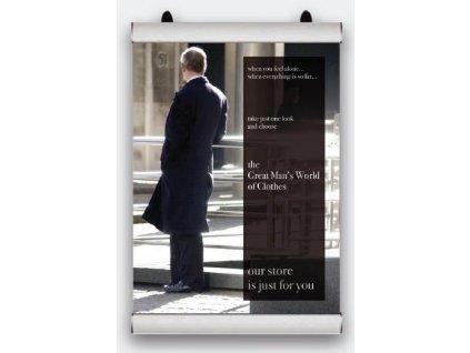 Plagátová lišta Poster Snap - 420 mm