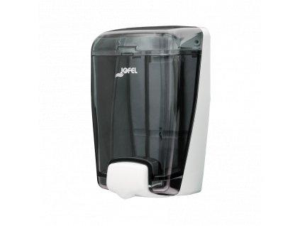 Dávkovač Jofel Azur na tekuté mydlo, 1l, dymový, na dolievanie