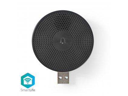 Príslušenstvo Nedis WIFICDPC10BK pre WiFi domovný zvonček WIFICDP10GY   USB