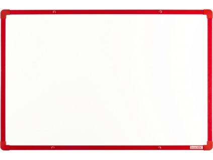 Tabule VMS VISION magnetická boardOK 60 x 90 cm, lakovaný povrch, červený rám U20