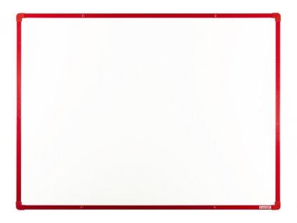 Tabule VMS VISION magnetická boardOK 120 x 90 cm, lakovaný povrch, červený rám U20