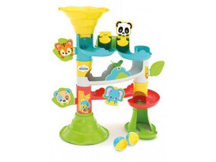 Hračka Clementoni Baby veľká guľôčková dráha so zvieratkami