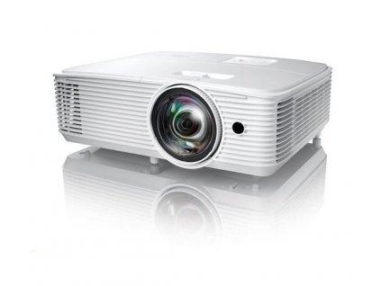 Projektor Optoma H117ST DLP, FULL 3D, WXGA, 3 800 ANSI, HDMI, VGA, RS232, 10W repro