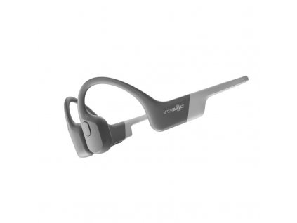 Slúchadlá Aftershokz Aeropex pred uši, Bluetooth, šedá