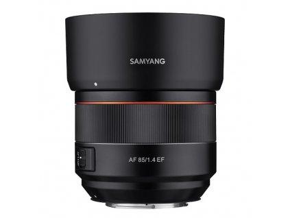 Objektív Samyang AF 85mm F/1.4 Canon, rozbalené