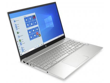 "Notebook HP Pavilion 15-eg0002nc 15.6"" FHD, i5-1135G7, 8GB, 256GB SSD, W10, strieborný"