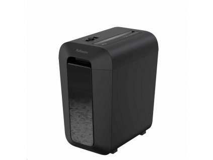Skartovač Fellowes LX 65 P-4, Cross cut 4x40mm, 10 listov, 22l, Credit Card, čierny – CASHBACK 15 €