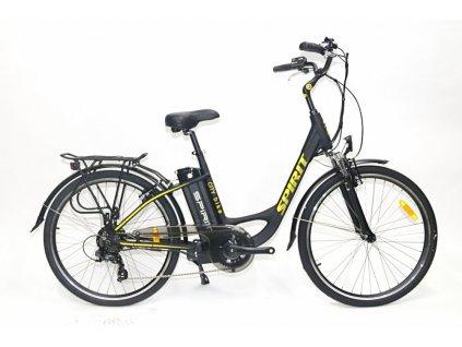 Elektrobicykel Spirit mestký City čierna 13Ah