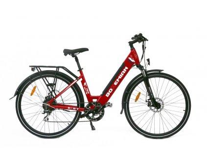 Elektrobicykel Spirit Bohemian Sport červená 16Ah