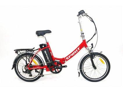 Elektrobicykel Spirit skladačka, JOY II červená 18Ah (2021)