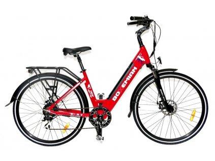 Elektrobicykel Spirit Bohemian červená 13Ah
