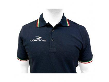 Tričko Longoni tmavomodré, veľkosť L