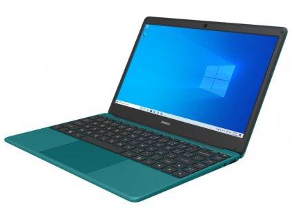 """Notebook Umax VisionBook 13Wr 13.3"""" FHD IPS, N4020, 4GB, 64GB Flash + SSD M.2 slot, mini HDMI, W10 Pro, tyrkys"""