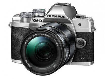 Digitálny fotoaparát Olympus E-M10 Mark IV 14-150mm kit silver/black - poškozený obal