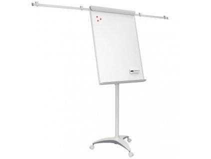 Mobilné flipchart s ramenami OFFICE PRO - Grey line design