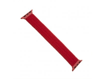 Remienok FIXED Nylon Strap elastický nylonový pre Apple Watch 42/44mm, veľkosť S, červený