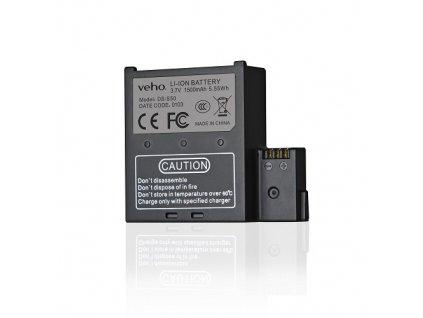 Batéria VEHO Muvi Li-Ion 1500mAh pro kamery K-série