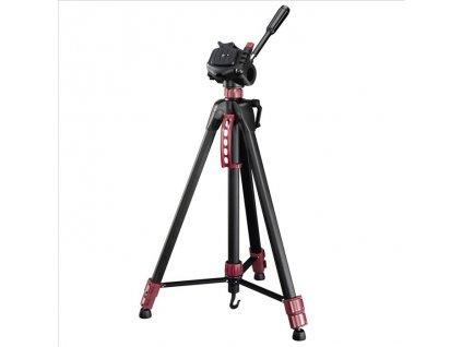 Statív tripod Hama STAR BR, 166 - 3D, farba čierna/ červená
