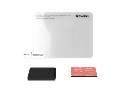Držiak TrueCam pre H7 s 3M samolepkou a elektrostatickou nálepkou