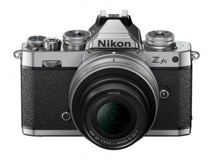 Digitálny fotoaparát Nikon Z fc + 16-50mm (Z) f/3,5-6,3 DX VR silver