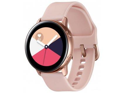 Hodinky Samsung Galaxy Watch Active zlatorůžové