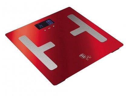 Váha Berlingerhaus osobná Smart s telesnou analýzou 150 kg Burgundy Metallic Line