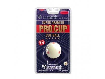 Biliardová guľa Super Aramith Pro Cup 52.4 mm, biela
