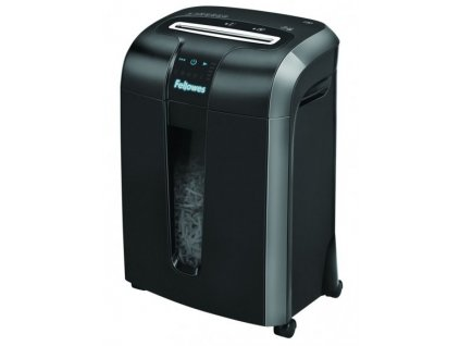 Skartovač Fellowes Powershred 73Ci, P-4, Cross cut 4×38mm, 10 listov, 23l, CD+DVD. Credit Card, NBÚ