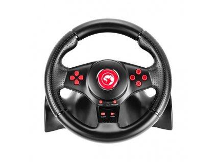 Sada Marvo volantu s řadící pákou a pedálů GT-903 PC/PS3/PS4/X360/XONE/Switch/Android, USB